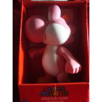 *** Yoshi Color Rosa *** Figura De Super Mario Bros De 23cm.