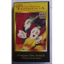 Cirque Du Soleil Una Nueva Experiencia Vhs Rariismo 1996 Mn4