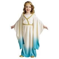 Disfraz De Diosa Romana, Griega Para Niñas, Envio Gratis