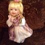 Preciosa Muñeca De Porcelana, Americana Con Certificado $550