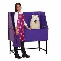 Bañera Ducha Para Mascotas De Acero Inoxidable Calibre 16