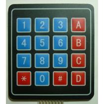 Telcado Matricial 4x4 Compatible Con Arduino, Pic, Avr
