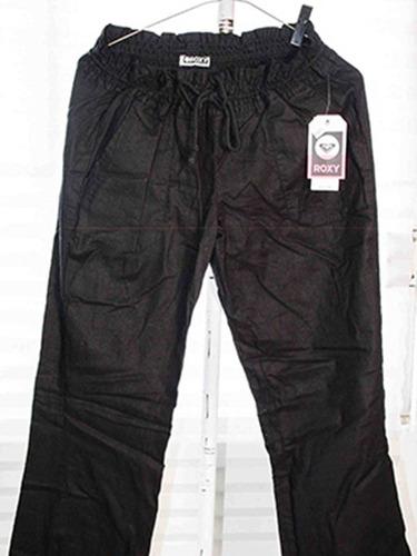 1416bec6bb Pantalon De Manta Blanco negro Roxy 100%original