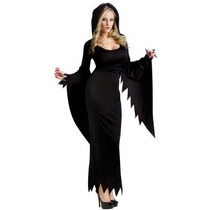 Oferta Disfraz De Scream Vampiresa Bruja Para Damas Plus