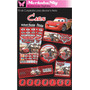 Invitaciones De Cumpleaños Kit Cars Imprimelo Tu!!