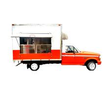 Food Truck Caja De Acero Inoxidable