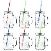 Tarros De Cristal Con Tapa Mason Jar
