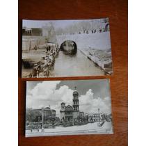 Postal Y Fotog De Monterrey, Catedral Y Lavaderos Públicos