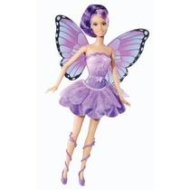 Barbie Mariposa Y El Hada Princesa Amigos Doll Purple