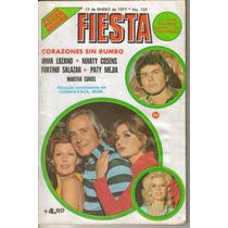 Fotonovela Fiesta: Irma Lozano, Marty Cosens, Fortino S.