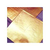 500 Hojas De Oro Arte Artesanias Sin Papel C Instructivo