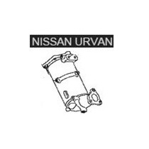 Catalizador Nissan Urban 2005 Al 2012
