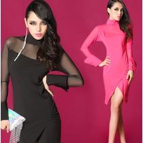 Vestido Corto Fashion Elegante Glamour Envío Gratis 982