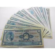 Un Billete 50 Pesos Allende Condicion Usado