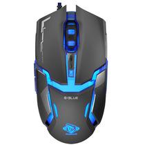 Mouse E-blue Auroza 4000 Dpi Optico Usb Gaming 5 Colores Led