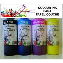 Tinta Para Papel Couche, Satinados, Epson 125ml