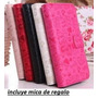 Alcatel Pop C5 0t 5036 Cartera Fashion Piel+ Mica +envio*