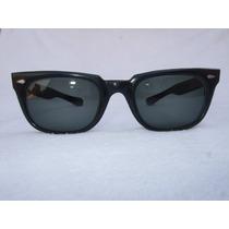 Lentes De Sol American Optical Negro Vintage