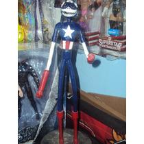 Figura De Resina Jack Squeleton Capitan America