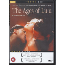 Las Edades De Lulú De Bigas Luna Importada Dvd Región 0 Pal