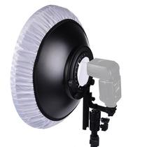 Beauty Dish 55 Cm Para Flash Speedlite Canon Nikon Yongnuo