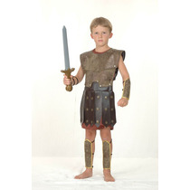 Traje Romano - Hombres Guerrero Griego Vestido De Lujo De Gr