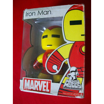 Mighty Muggs Marvel Iron Man Caja Abierta Buen Estado!!