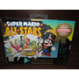 Super Mario All Stars Snes Super Nintendo Nuevo Y Sellado