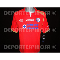 Jersey Cruz Azul 2014 Umbro 50 Aniversario Rojo
