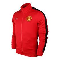 Chamarra Manchester United Nike N98 Authentic Futbol Adidas