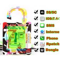R-sim Mini 2 Gevey Rsim Turbo Sim Iphone 4s 5 5s 5c Ios 7.1