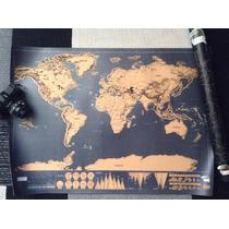 Mapa Mundial, Rasca El País De Tu Preferencia / Scratch Map