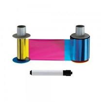 Cinta Color Ymckk Doble Panel Resina Negra Para Impresoras F