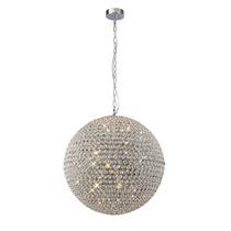 Esfera Colgante De Cristal 90cm De Diametro 14 Luces Cl