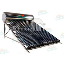 Calentador Solar 215 Litros. Acero Inoxidable. 18 Tubos