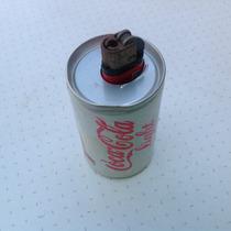 Bonito Lata Encendedor De Cocacola Holandesa De Los 90s