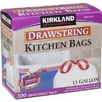 Kirkland Signature Con Cordón De Cocina Bolsas De Basura - 1