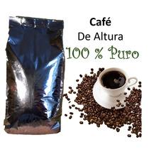Cafe Altura Artesanal 100%puro Tostado En Grano Y Molido 1kg