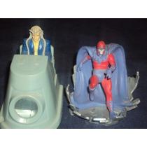 Lote De 2 Figuras Marvel Magneto Y Profesor Javier De X-men.