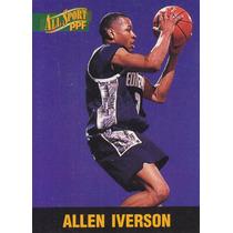 1996 Score Board All Sport Ppf Rookie Allen Iverson Sixers