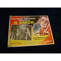 El Zarco Pedro Armendariz Lobby Card Cartel Poster