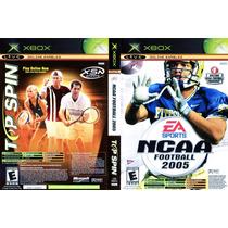Top Spin/ Ncaa Football 2005 Xbox Seminuevo Envio Gratis