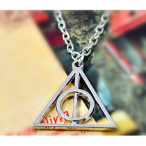 Dije Y Collar Reliquias De La Muerte Harry Potter