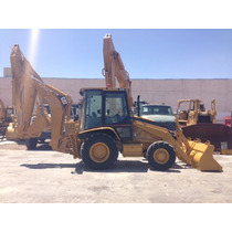 Retroexcavadora Caterpillar 420d Mod. 2005 4x4 Con Kit P/mar