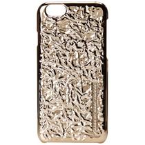 Marc Jacobs Para Iphone 6 Caso De Papel De Aluminio Oro
