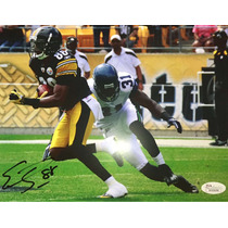 Foto Acereros Steelers Autógrafo Certificado Holograma Jsa