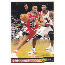 1992-93 Upper Deck Scottie Pippen Bulls