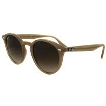 Lentes Ray Ban Rb 2180f 616613 Round Beige Brown Gradient