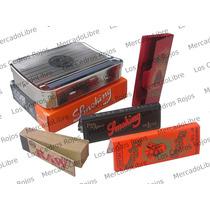 Roladora Liar + Zig Zag + Portapapeles + Tips Raw + Smoking