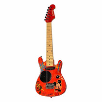 Mini Guitarra Electrica Infantil Disney Mickey Mouse Origina